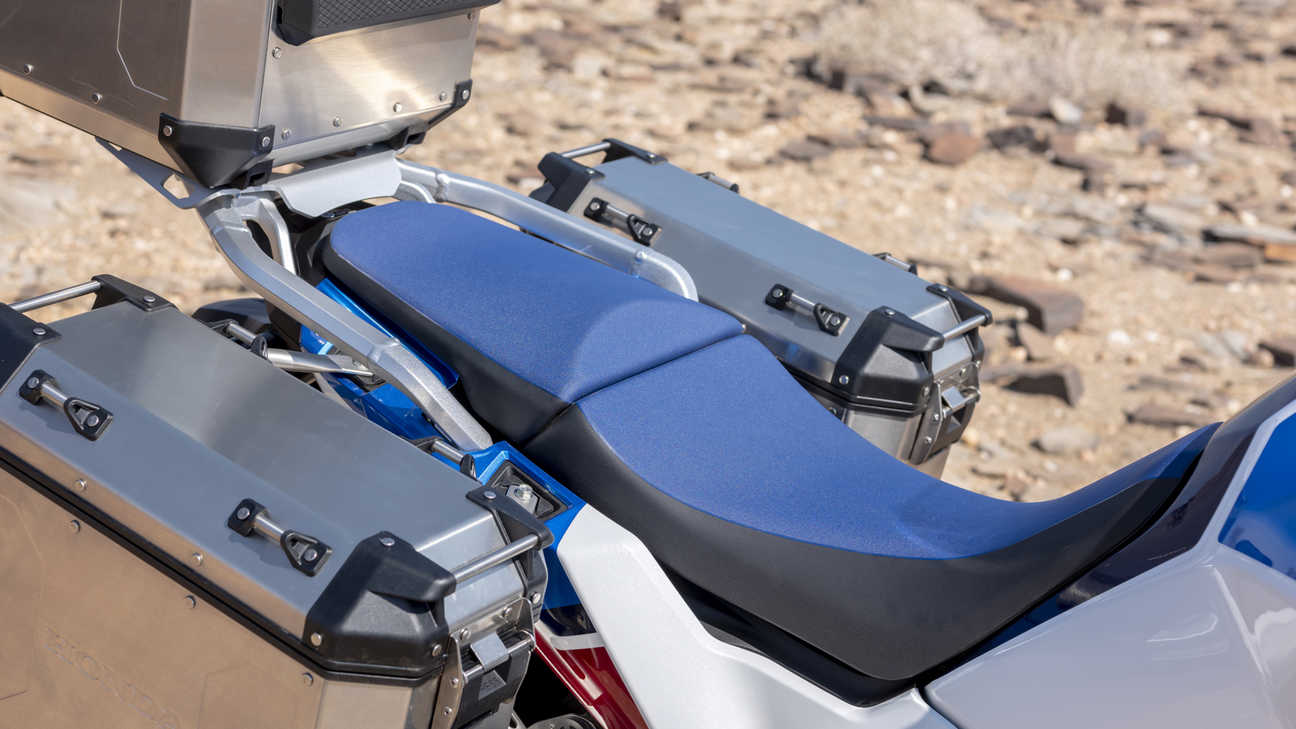 Honda Africa Twin Adventure Sports, zoom on seat