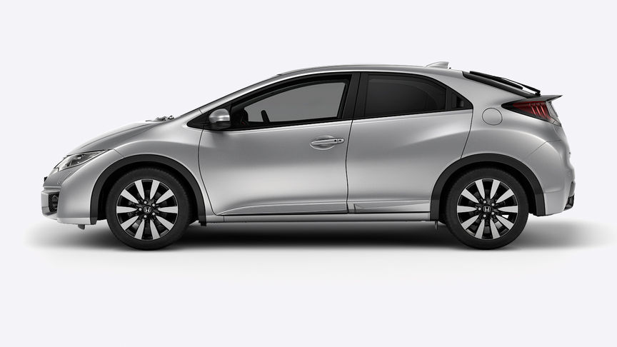Honda Civic Alabaster Silver Metallic