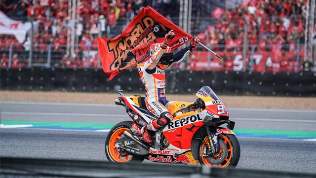 Honda i Marquez na tronu