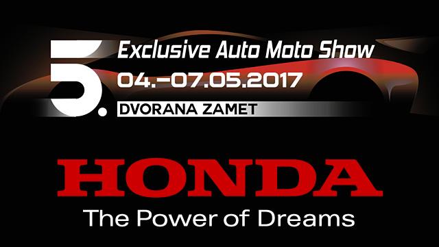 Honda na Exclusive Auto Moto Show-u u Rijeci