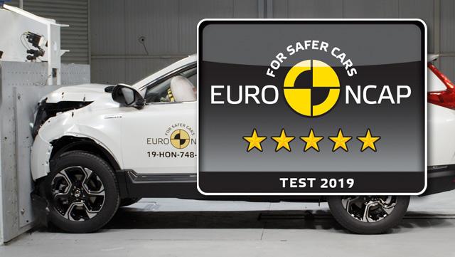 Hondi CR-V maksimalnih 5 zvjezdica Euro NCAP-a