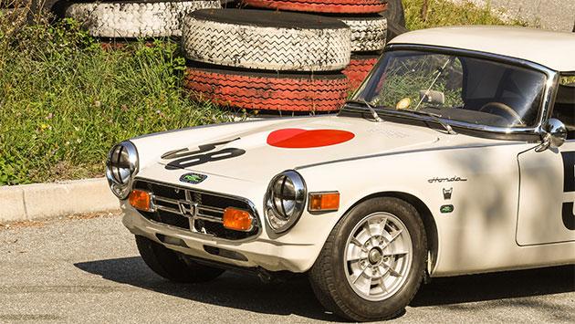 Test Honda old timera