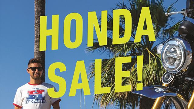 HONDA SALE 2018