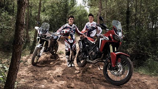 Marquez i Barreda testirali Africu Twin u njenom prirodnom okruženju